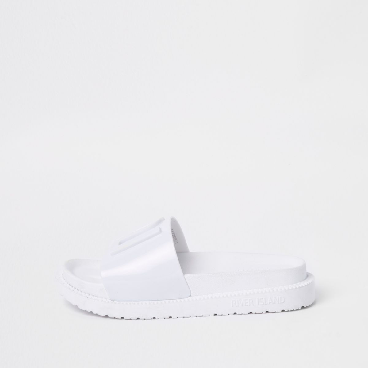 White RI branded jelly sliders