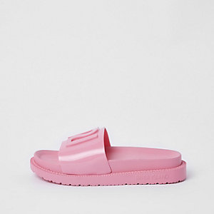 Pink RI branded jelly sliders