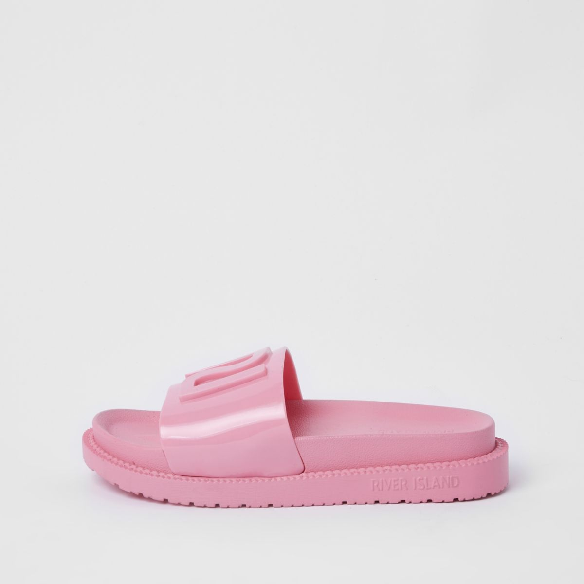 Pink RI branded jelly sliders