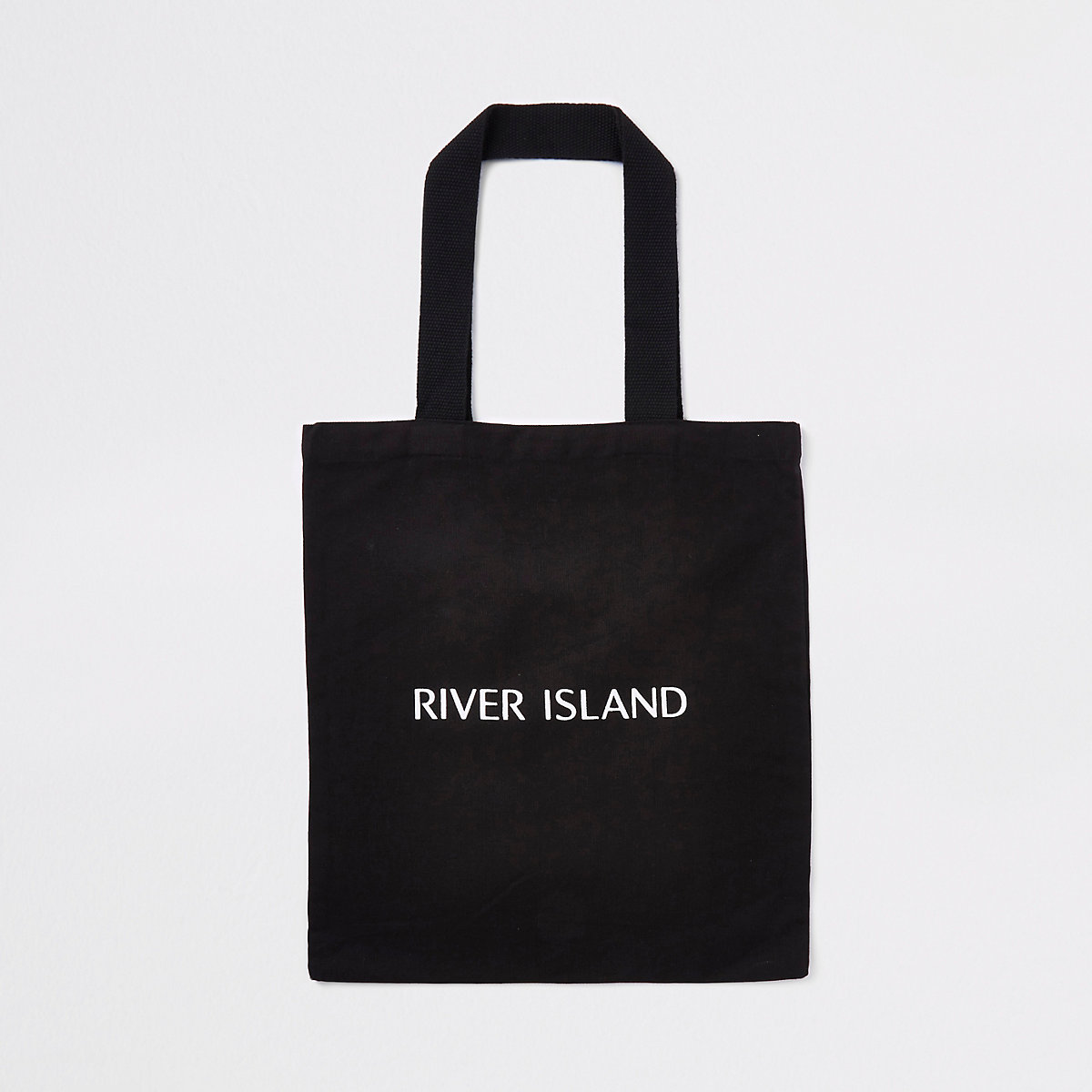 Black RI shopper tote bag
