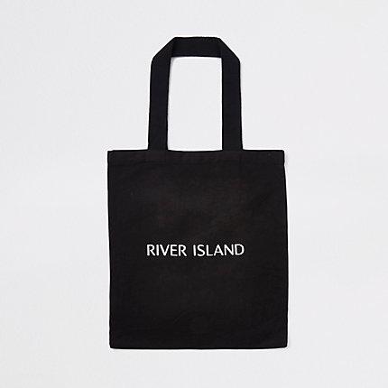 River Island Cabas noir RI