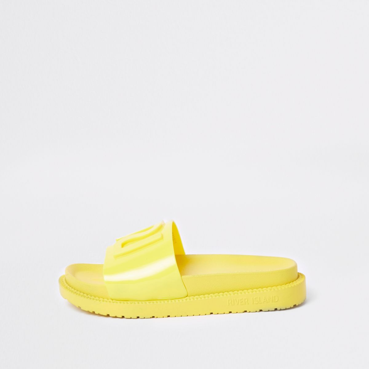 Yellow RI branded jelly sliders