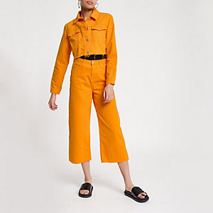 Alexa – Jean large court orange