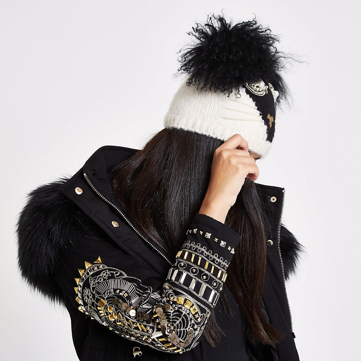 RI 30 – Bonnet tête de chat noir - Chapeaux - Accessoires - Femme 868936e8dc0