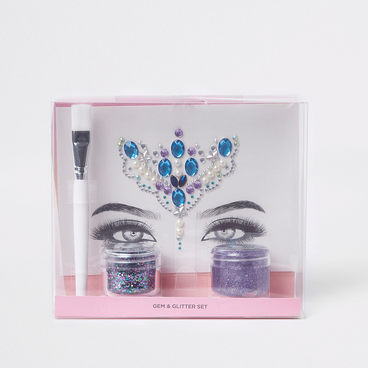 Prima glitter makeup set