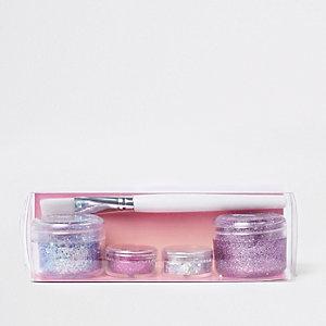 Prima – Lot de paillettes roses pour maquillage