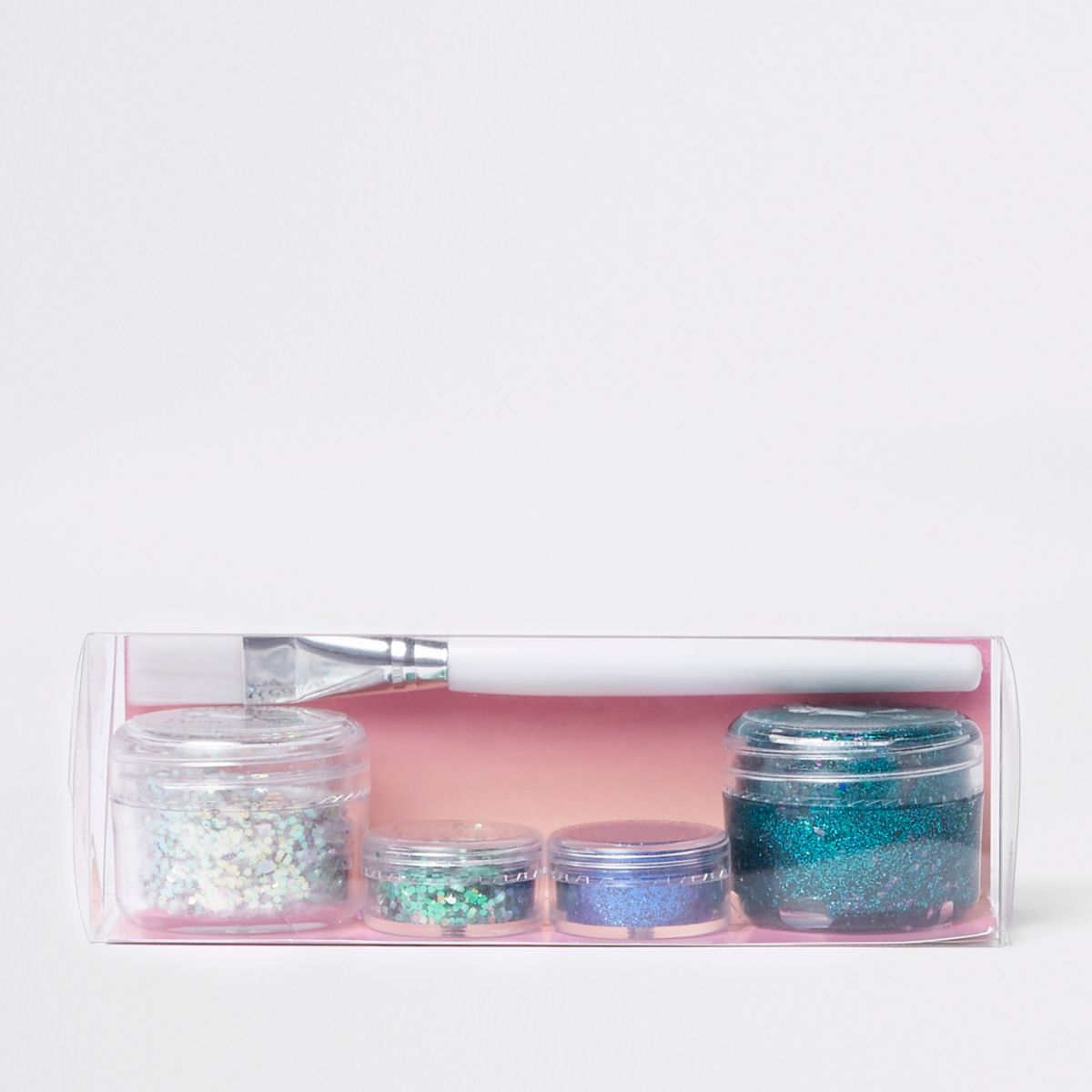 Prima blue glitter stack makeup set