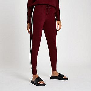Pantalon de jogging en maille « Winging it » rouge
