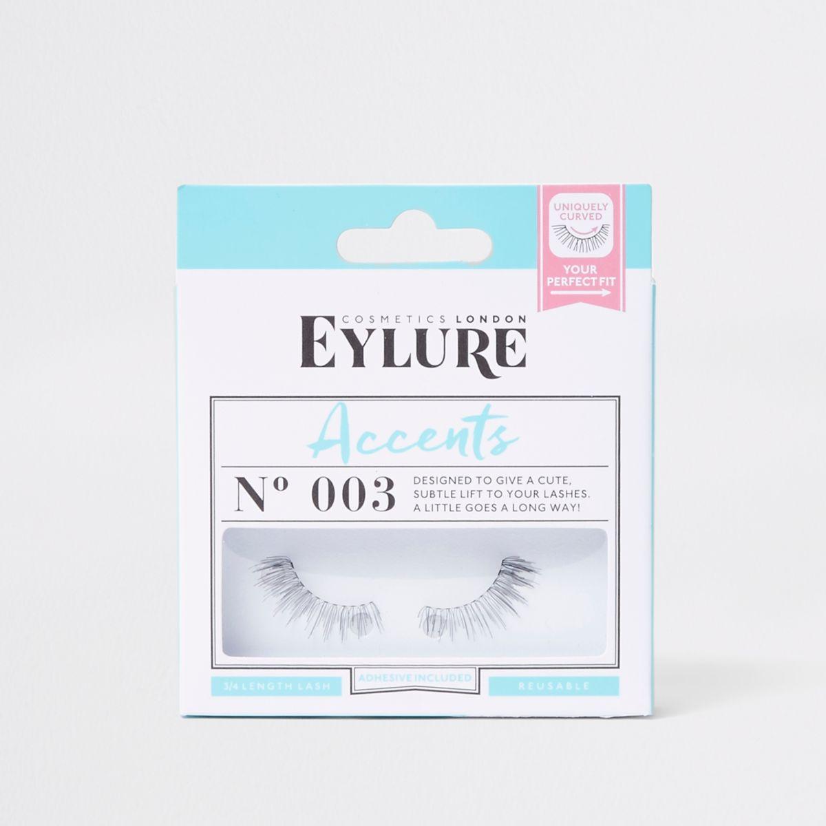 Eylure - Accents - Zwarte valse wimpers nr. 003