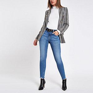 Amelie – Mittelblaue Superskinny Jeans
