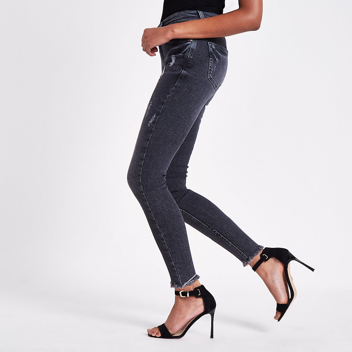 Black Rl Amelie super skinny jeans