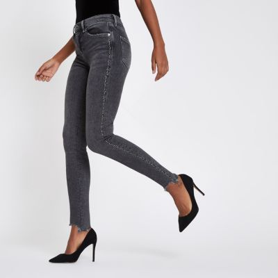 River Island Grey Jeans