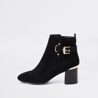 River Island Block Heel Ankle Boot
