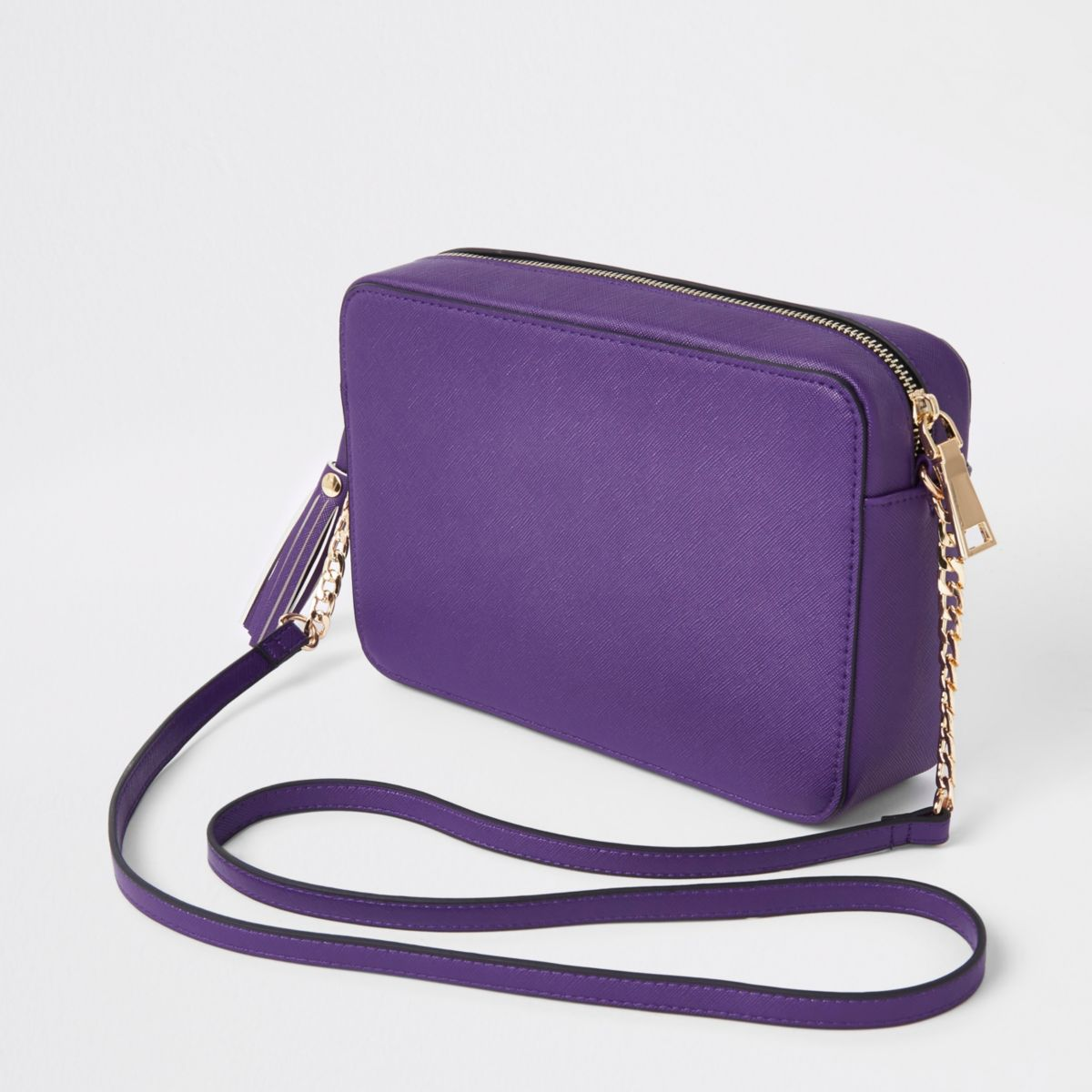 body tassel boxy cross Purple bag YXzWt7qzw