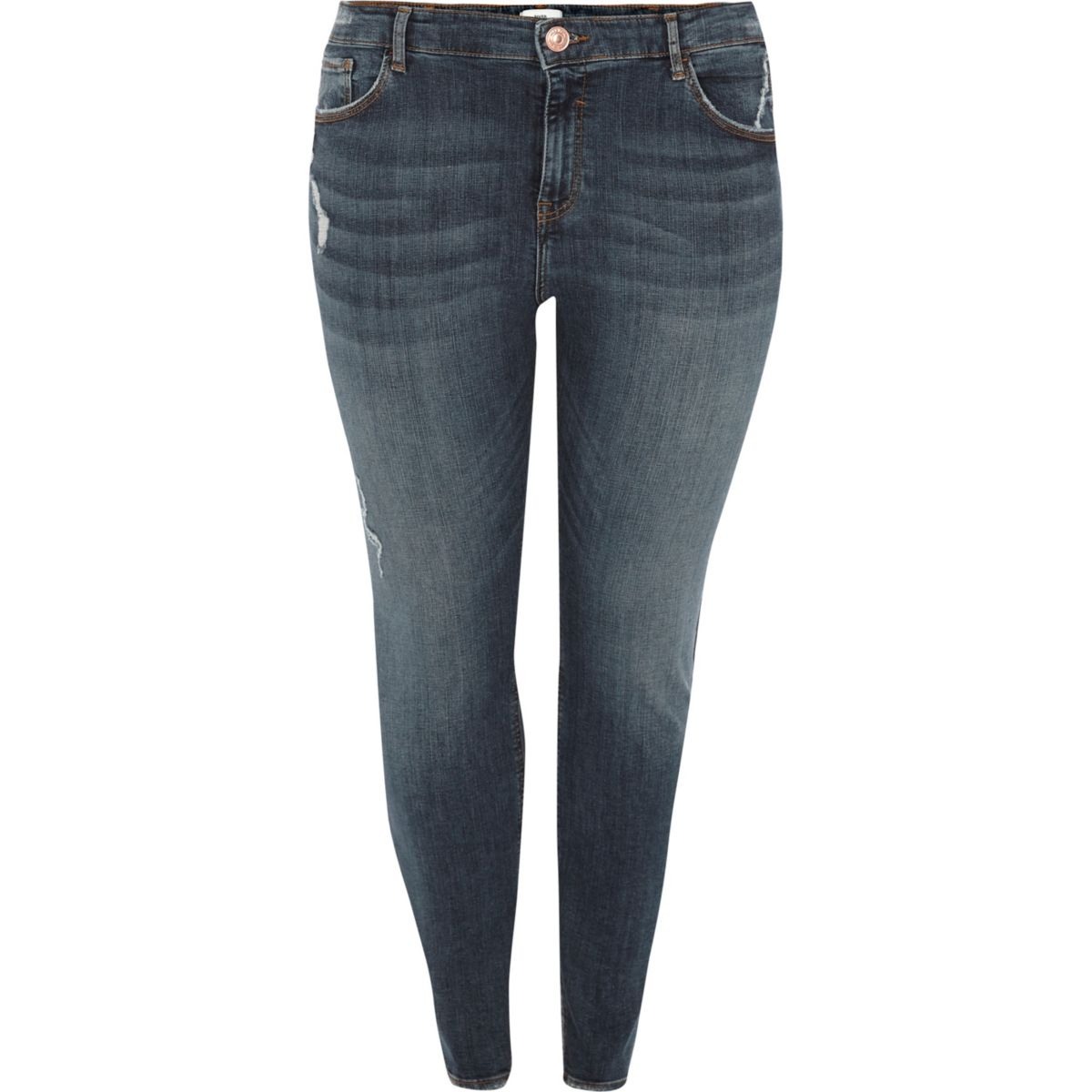 jeans skinny Plus Alannah mid blue rise wxRR8qX