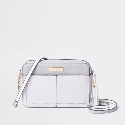 River Island Grey Cross Body Bag