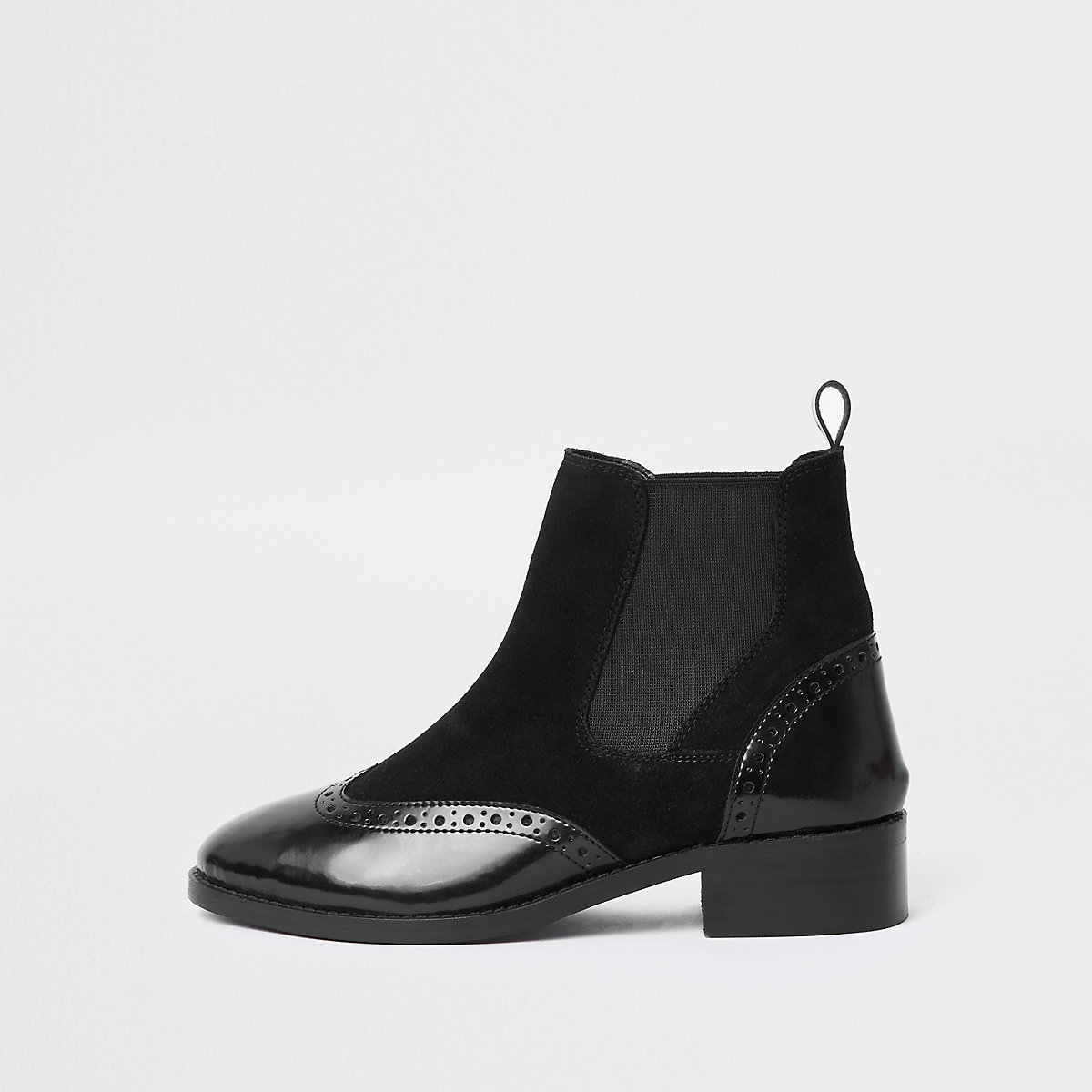 Bottines richelieu noires