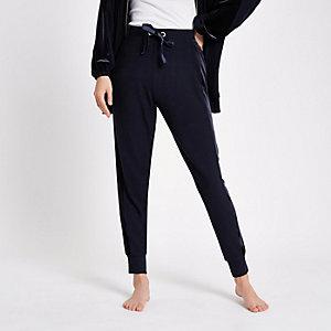 Pantalon de jogging confort bleu marine
