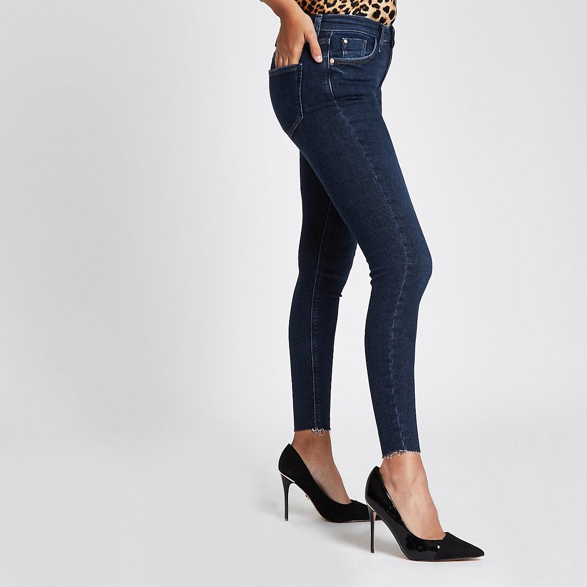 Dark denim Amelie RI super skinny jeans