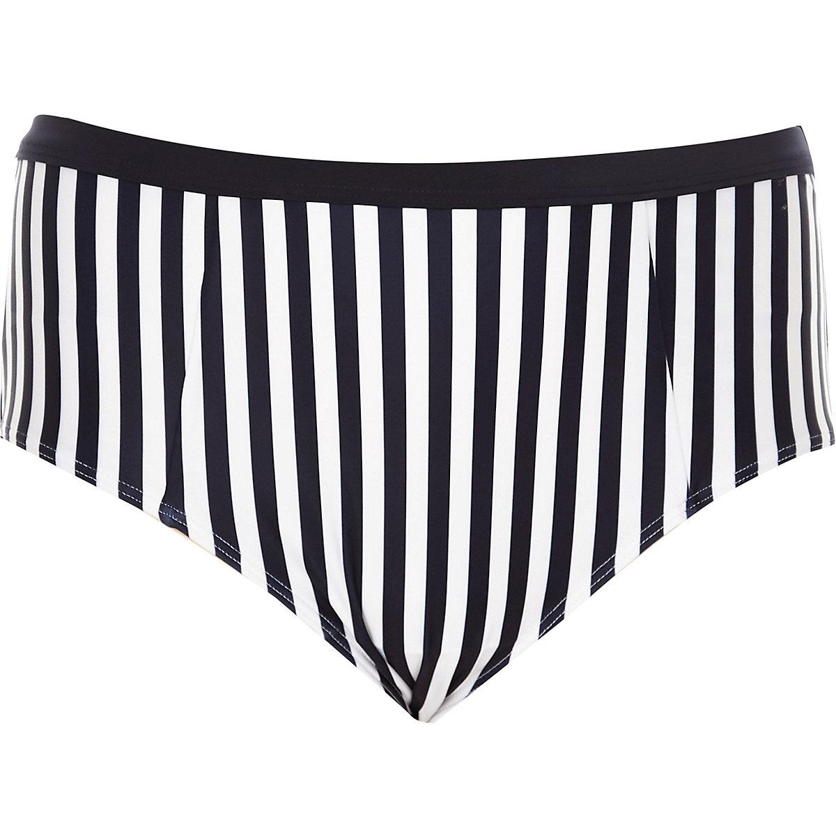 119f55d0359a8 Plus navy stripe bikini bottoms - Bikini Bottoms - Bikinis ...
