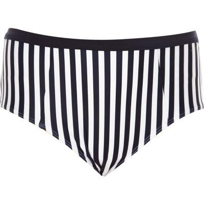 Navy bikini bottoms