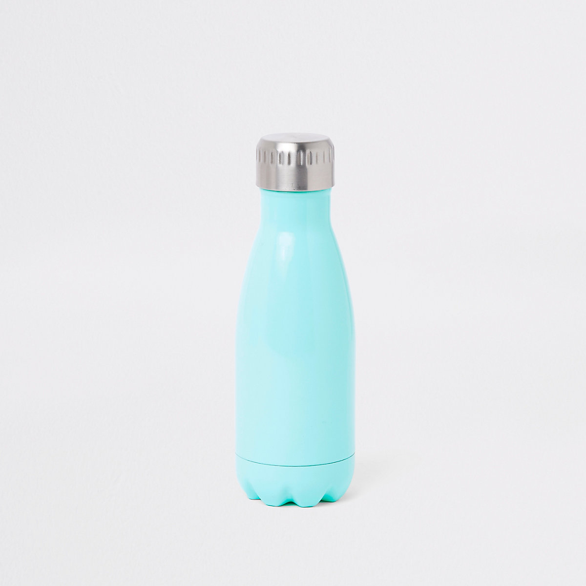 Blue double walled water bottle