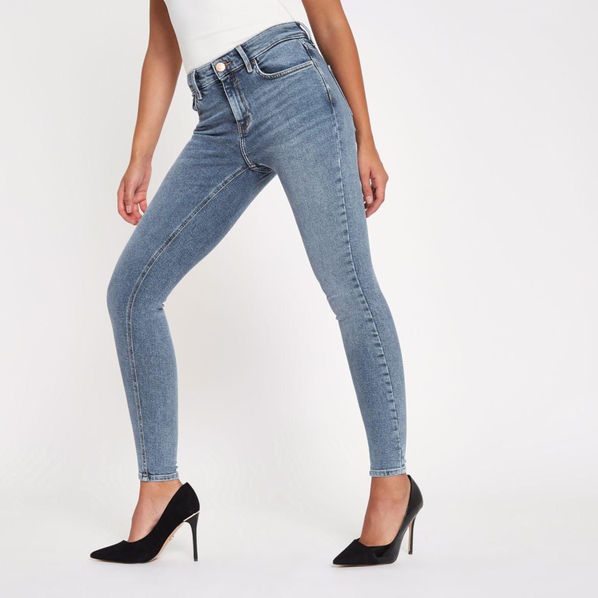 Denim rise jeans Denim Amelie Amelie mid mid rv1qr