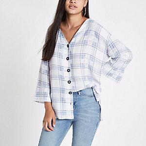 River Island Womens stripe button front bar back blouse Sale Shop Offer Buy Cheap Cheap 3iw7MgDp0d