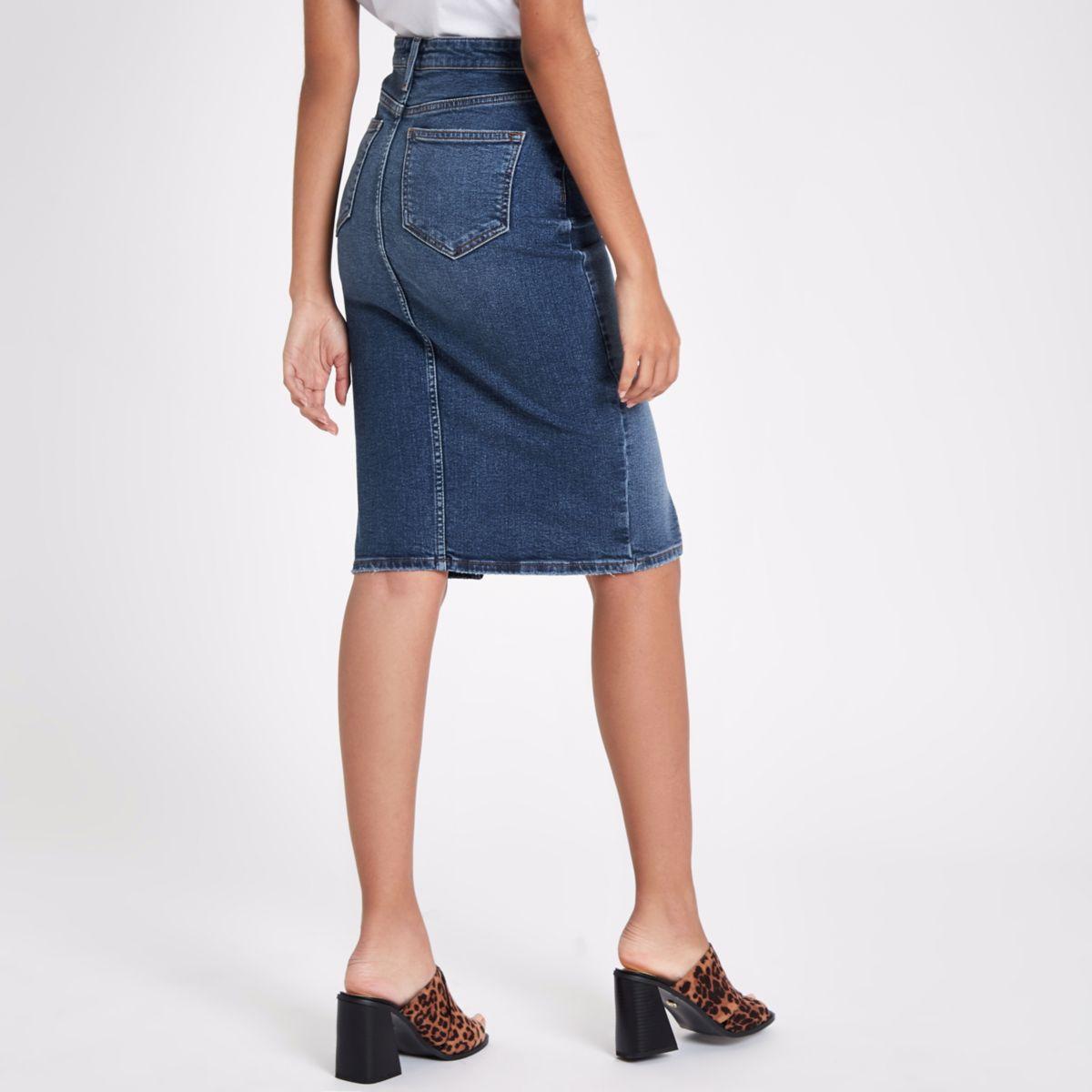 daaf1c74a Denim Pencil Skirt Shopstyle Uk   Huston Fislar Photography