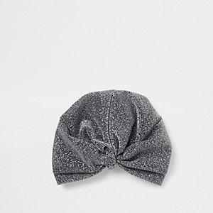 Haarband in Schwarz-Metallic