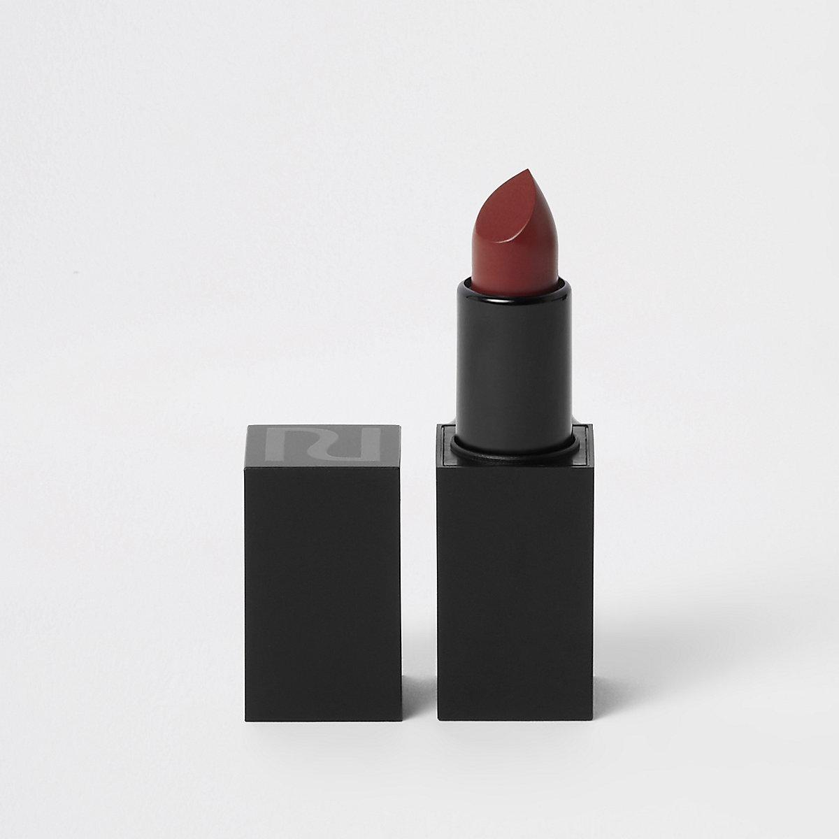 Red matte lipstick love letter