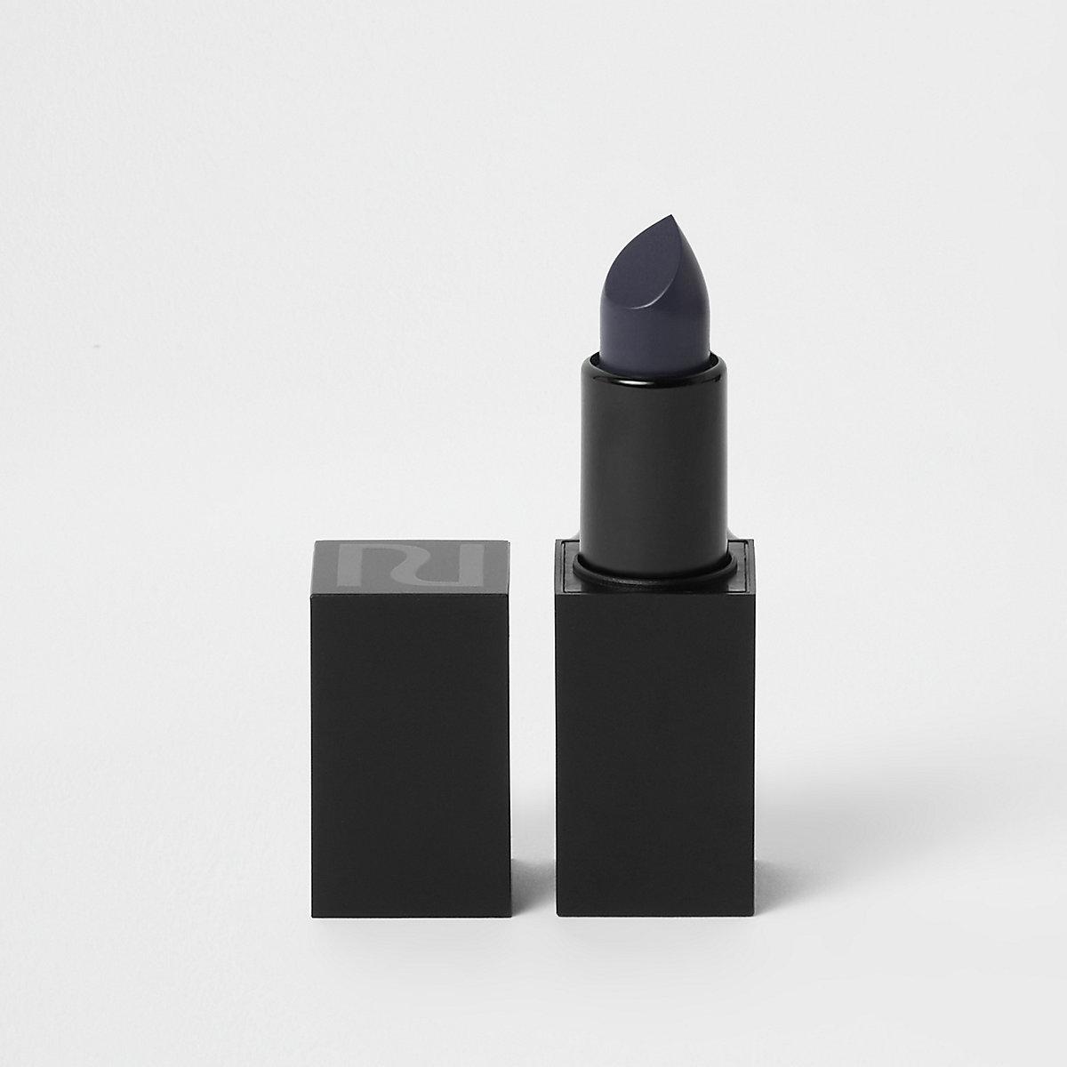 Navy matte lipstick unapologetic