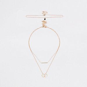 Goldene Halsketten, Set
