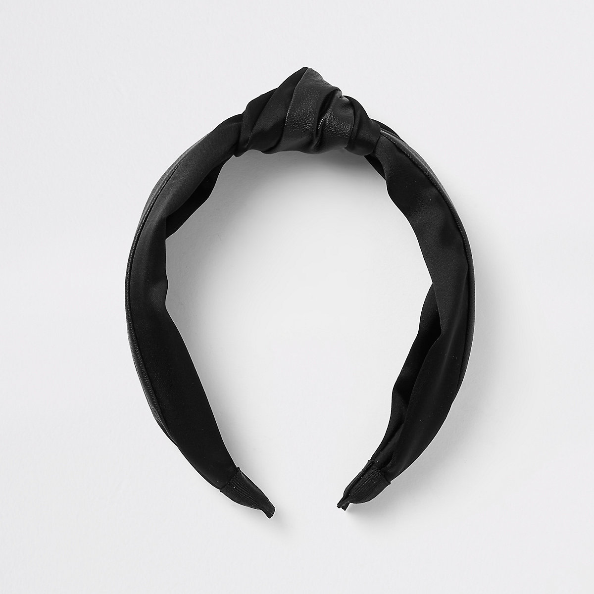 Black knot hairband