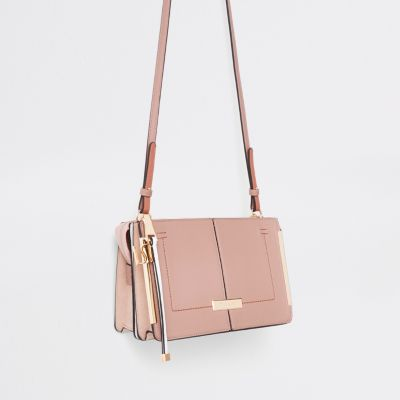 River Island Pink Cross Body Bag