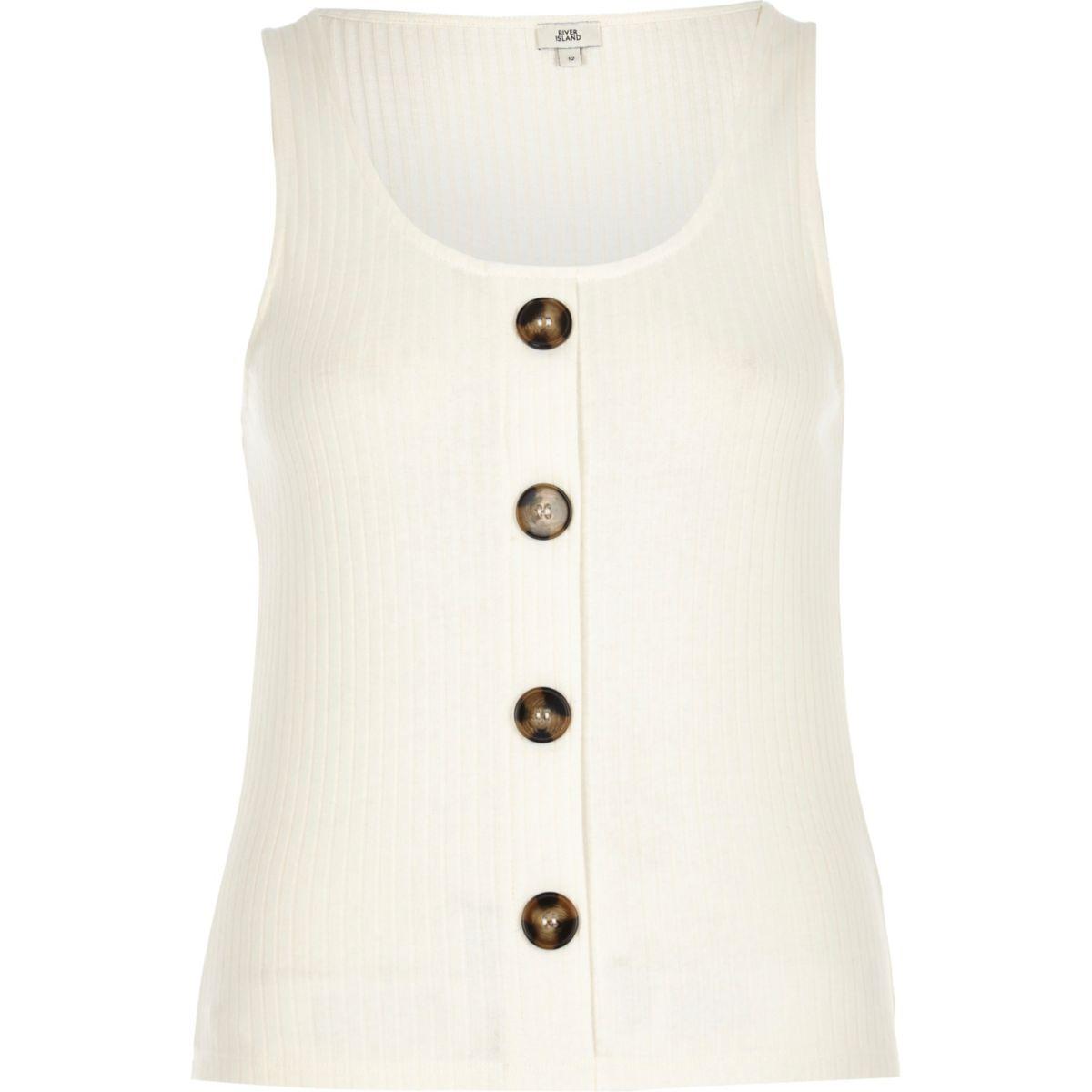 button button front vest button White vest White front White YEtq4w