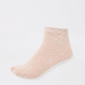 Roze zachte sokken