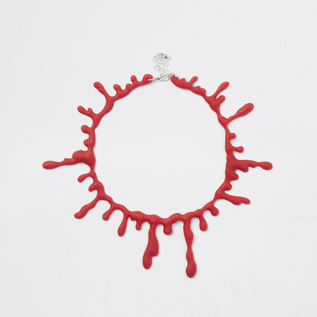 Red blood Halloween choker