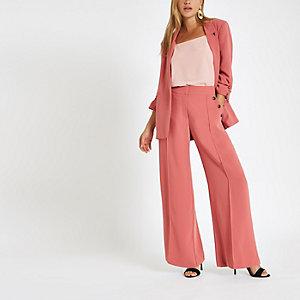 Light pink loose fit cami top
