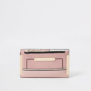 Pink mini foldout purse