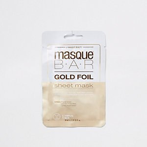 Masque Bar gold foil sheet mask