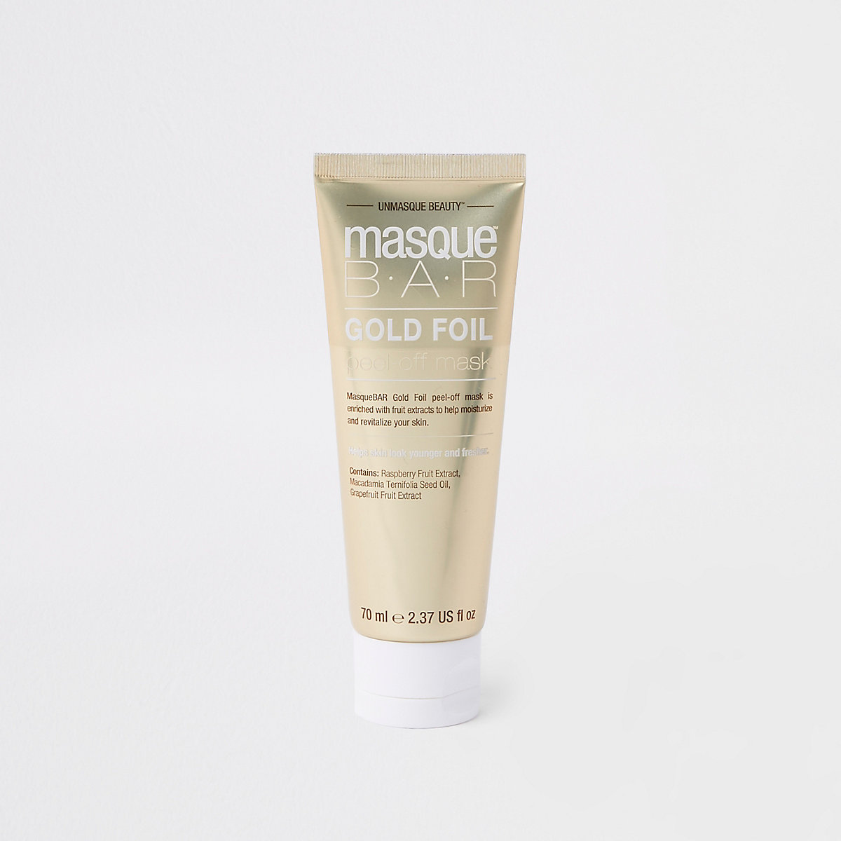 Masque Bar gold face mask tube