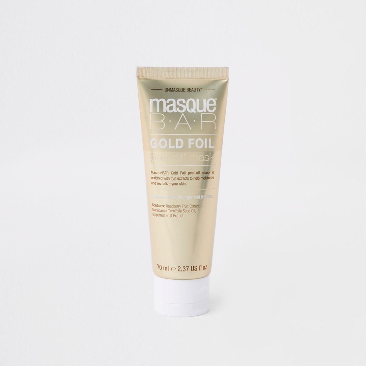 Masque Bar gold face mask tube