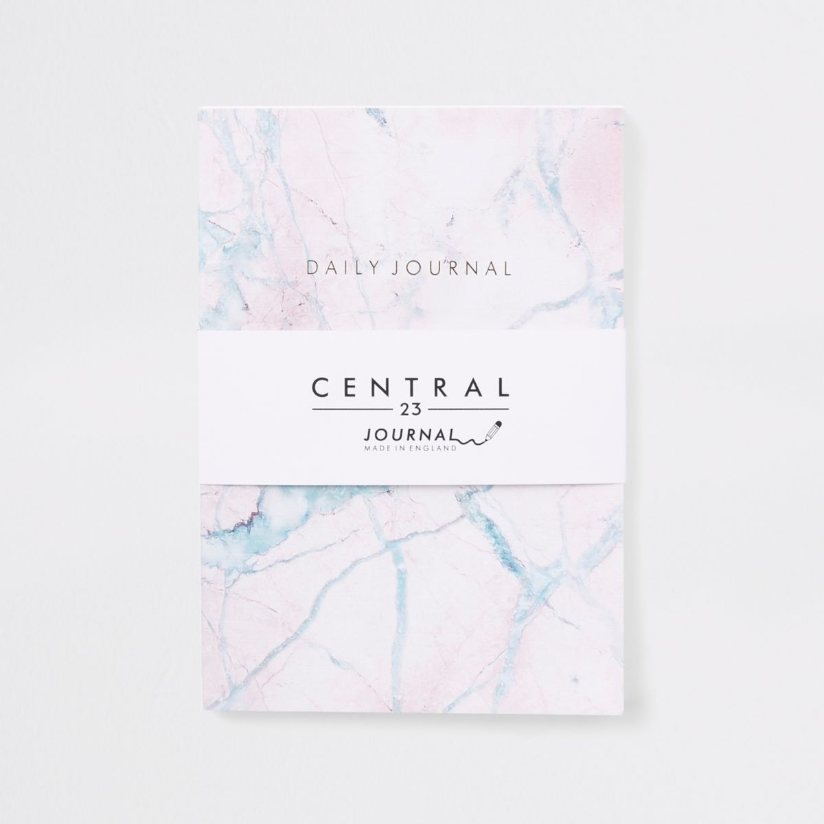 Central 23 pink marble journal