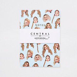 Central 23 – Carnet bleu motif emoji Beyonce