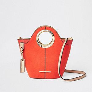 Leuchtend rote Mini Tote Bag