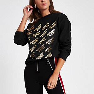 Black Ditch the Label charity sweatshirt