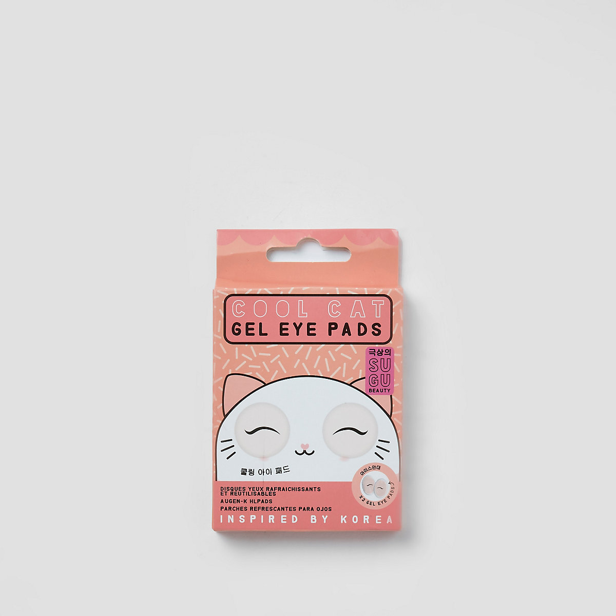 Sugu beauty cool cat gel eye pads