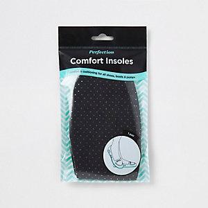 Black comfort insoles
