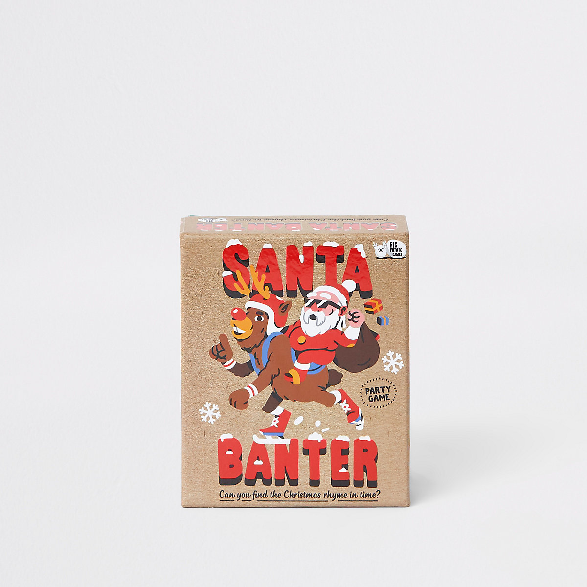 'Santa banter' party game